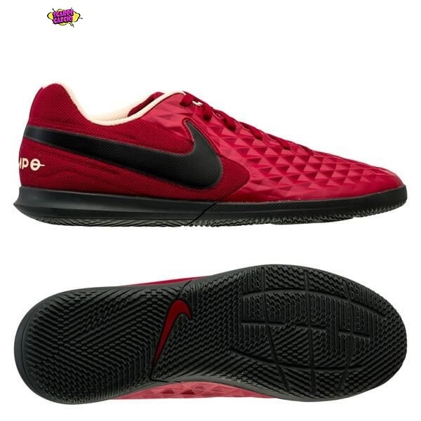 Offerta Nike Tiempo Legend 8 Club Donna IC Play Mode Rosso Nero Bianco Outlet
